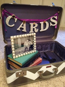Suitcase Card Box